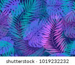 seamless background from the... | Shutterstock .eps vector #1019232232