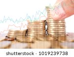 financial concept image | Shutterstock . vector #1019239738