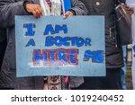 london  england. 3rd february... | Shutterstock . vector #1019240452