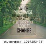 inspirational and motivation... | Shutterstock . vector #1019253475