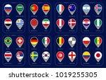 groups football world... | Shutterstock .eps vector #1019255305