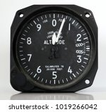 Small photo of Aircraft Altimeter type B4 3E