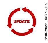 update software icon. concept... | Shutterstock .eps vector #1019279416