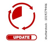 update software icon. concept... | Shutterstock .eps vector #1019279446