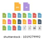 archive file formats | Shutterstock .eps vector #1019279992