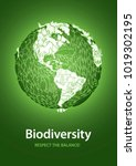 biodiversity  respect the...   Shutterstock .eps vector #1019302195