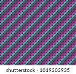 seamless pattern of sequins in ... | Shutterstock .eps vector #1019303935