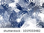 brushed painted abstract...   Shutterstock . vector #1019333482