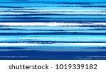 dry brush grunge strokes and... | Shutterstock .eps vector #1019339182