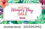 horizontal banner for sale... | Shutterstock .eps vector #1019341942