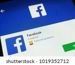 rzeszow  poland. february 7 ... | Shutterstock . vector #1019352712