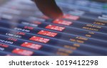 recession of stock market on... | Shutterstock . vector #1019412298