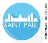 Saint Paul Minnesota Usa Flat...