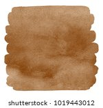 coffee stains watercolor square ... | Shutterstock . vector #1019443012