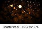 gold abstract bokeh background. ... | Shutterstock . vector #1019454376