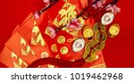 chinese new year festival... | Shutterstock . vector #1019462968