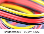 close up of multicolored... | Shutterstock . vector #101947222