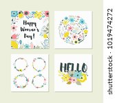 vector collection for design... | Shutterstock .eps vector #1019474272