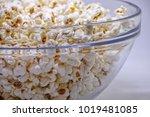 Popcorn In A Transparent Glass...
