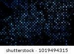 dark blue vector  template with ... | Shutterstock .eps vector #1019494315