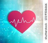 health technology vector blue...   Shutterstock .eps vector #1019506666