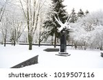 winter landscape with snow   Shutterstock . vector #1019507116