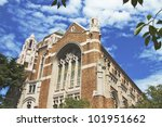 a view of university of... | Shutterstock . vector #101951662