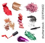 collection of  various make up... | Shutterstock . vector #101954602