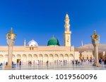 medina  saudi arabia   31...   Shutterstock . vector #1019560096
