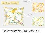 interior design textile... | Shutterstock .eps vector #1019591512