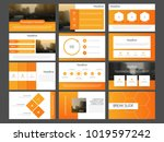 orange bundle infographic... | Shutterstock .eps vector #1019597242