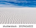 Tranquil Image Of White Sand...