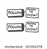 social media concept... | Shutterstock .eps vector #101962378