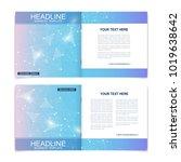 scientific templates square... | Shutterstock .eps vector #1019638642