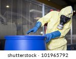 experts disposing infested... | Shutterstock . vector #101965792