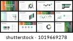 business presentation templates.... | Shutterstock .eps vector #1019669278