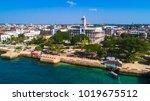 stone town  zanzibar  tanzania. | Shutterstock . vector #1019675512