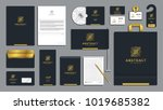 corporate identity branding... | Shutterstock .eps vector #1019685382
