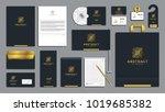 corporate identity branding... | Shutterstock .eps vector #1019685382