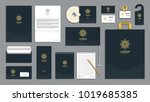 corporate identity branding... | Shutterstock .eps vector #1019685385