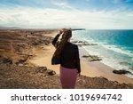 el cotillo  fuerteventura ... | Shutterstock . vector #1019694742