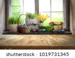 table background of free space... | Shutterstock . vector #1019731345