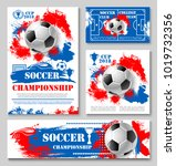 soccer sport championship cup... | Shutterstock .eps vector #1019732356