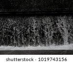 grunge dark black water texture ...   Shutterstock . vector #1019743156