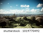 mount eden and auckland city | Shutterstock . vector #1019770492