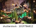 new york city  ny usa  ... | Shutterstock . vector #1019786812