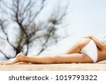 sexy female body covered with... | Shutterstock . vector #1019793322
