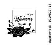 Happy Women's Day Hand Draw