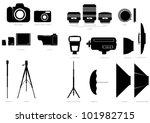 vector set of abstract... | Shutterstock .eps vector #101982715