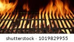 hot charcoal barbecue grill...   Shutterstock . vector #1019829955